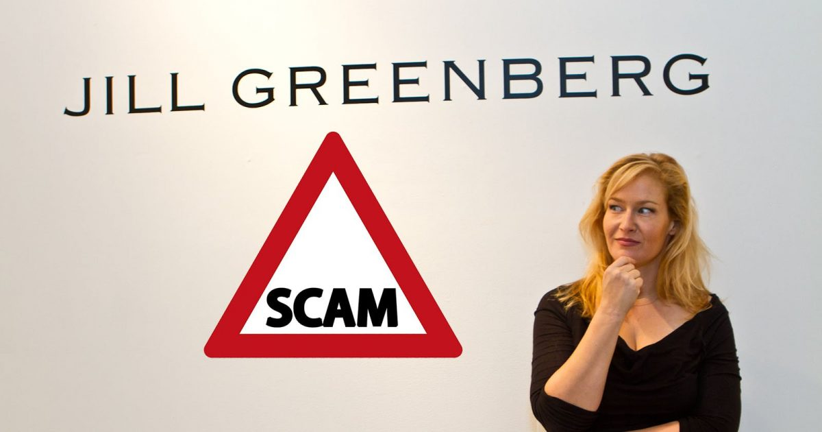 fake Jill Greenberg scam photographer